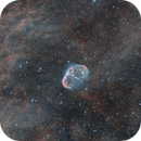 Crescent Nebula (NGC 6888) Bi-Color,                                Craig
