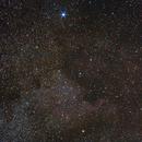 Deneb & North America Nebula - Barn Door Tracker test 2,                                Hado
