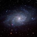 Messier 33 (NGC598) - Triangulum Galaxy,                                Kuan Yu Ja