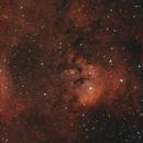 NGC 7822 & SH2-171 in dual narrowband,                                Janos Barabas