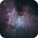 Messier 42 (core with some proplyds and HH objects),                                Łukasz Sujka