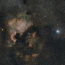 North America Nebula and Deneb,                                SeSonnen