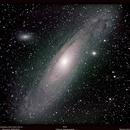 M31 Andromède,                                Bernard Tournois