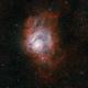 M8, The Lagoon Nebula, Narrowband Tri-color,                                riot1013