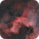 Cygnus Wall, part of NGC 7000,                                Michael Timm