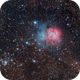 Triffid Nebula M20,                                CarlosAraya