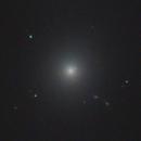 M87 and jet from supermassive blackhole,                                Nikolay Vdovin