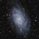 M33 Triangulum Galaxy LRGB Combination Test,                                Ben Koltenbah