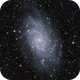 M33 Triangulum Galaxy LRGB Combination Test,                                Ben Koltenbah
