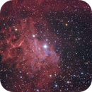 IC405 - The Flaming Star Nebula,                                Sektor