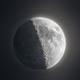 Earthshine moon,                                Bowen Cameron