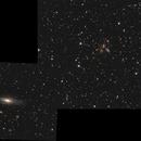 Ngc7331 and Stephan's Quintet ,                                Bert Scheuneman