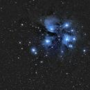 The Pleiades Star Cluster,                                Nikolaos Karamitsos
