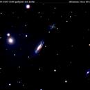 ngc3190  ngc3193 ngc3187 ngc3185    galassie  nel  leone     distanza intorno ai 60 milioni A.L,                                Carlo Colombo
