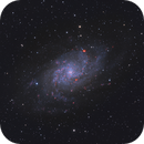 Messier 33 - Galaxy of the Triangle,                                Lorenzo Taltavull Menéndez