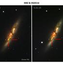 M82 SN2014J Comparison,                                John Hayes