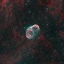 Crescent Nebula HOO,                                Sean Smith