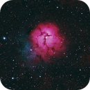 Trifid Nebula,                                James R Potts