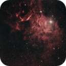 IC405 Flaming Star Nebula,                                urmymuse