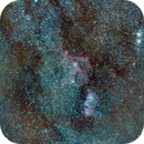 Heart and Soul nebulae + Double Cluster,                                spacetimepictures
