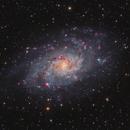 M33 - Triangulum Galaxy HaLRGB (2019),                                Victor Van Puyenbroeck