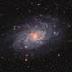 M33 - Triangulum Galaxy HaLRGB (2019),                                Victor Van Puyenb...
