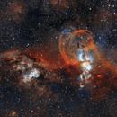 NGC 3576 (HOO) with more data,                                Ben