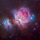 M42 Orion Nebula LRGB,                                David Nguyen