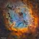 IC 1396 - Nébuleuse de la trompe d'éléphant - SHO,                                Séb GOZE