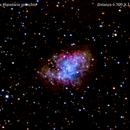 m1 nebulosa planetaria granchio nel toro                                        distanza  6.500  A.L.,                                Carlo Colombo