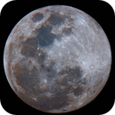 May 2020 Flower Moon in Enhanced Color,                                stricnine