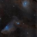 IC 4592 - The Blue Horsehead & IC 4604 Rho Oph Nebula,                                Bernhard Zimmermann