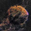 This IC443 Jellyfish nebula looks like a creepy skull,                                kskostik