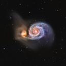 M 51 - The Whirlpool Galaxy,                                James E.