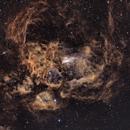 NGC 6357 IN NARROW BAND == REV.02==,                                Fernando