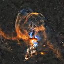 NGC3576 - The Statue Of Liberty Nebula,                                Jason Wiscovitch