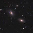 NGC 3166/3169 interacting galaxies,                                CCDMike