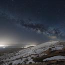 Milkyway at Capadocia,                                Ahmet Kale