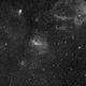 Bubble Nebula Region in Ha,                                JDJ