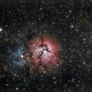 M-20 Trifid Nebula HDR,                                Ray Morris