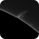 Quiescent prom animation on Southeast Limb 9/20/2020,                                rigel123