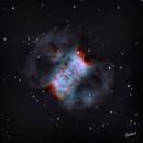 Little Dumbbell Nebula (Messier 76),                                Stephan Gabos