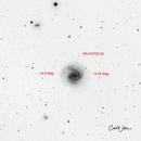 M61 with Super Nova SN AT2020 jfo,                                Carl Weber