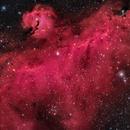 Seagull Nebula HRGB,                                Chad Andrist