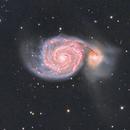 M51-Whirlpool Galaxy,                                Kristi Kuenstler