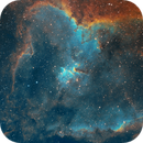 IC1805 Heart Nebula SHO,                                basskep