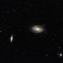 M81 (Bode's Galaxy), M82 (Cigar Galaxy) & Friends,                                Alan Brunelle