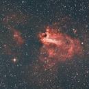 Nebulosa Omega,                                johan gomez