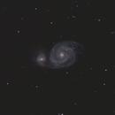 M51 - The Whirlpool Galaxy,                                Jelle Bokma