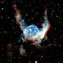 NGC 2359 Thor's Helmet,                                dts350z